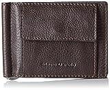 Marc O'Polo Money Clip B0126548001103 Herren Geldbörsen 8x11x2 cm (B x H x T), Braun (dark brown 790)