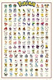 Pokemon - Kanto 151 - Anime Spiel Poster - Größe 61x91,5 cm