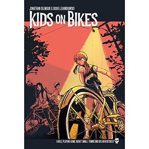 Renegade Game Studios RGS07119 Nein Kids on Bikes RPG, Spiel