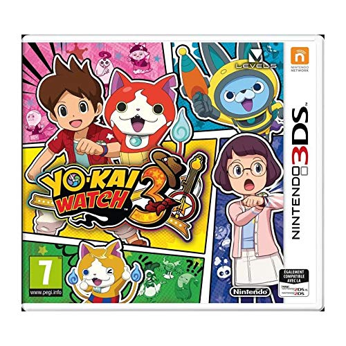 Nintendo Yo-Kai Watch 3, 3DS videogioco Basic Nintendo 3DS Francese