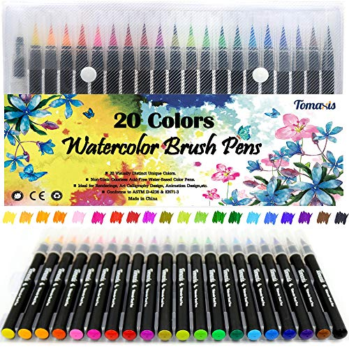 Colouring Watercolour Sketching Calligraphy Paintbrush