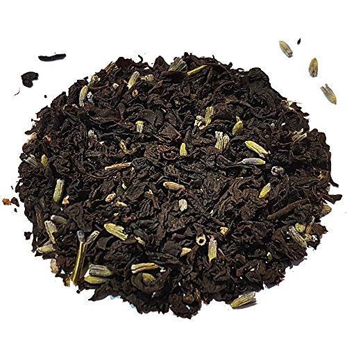 Teahouse Emporium Lavender Earl Grey Black Tea, Loose Leaf, Refill Pack (100)