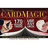 Ultimate Card Magic Kit, 170 Magic Trick...