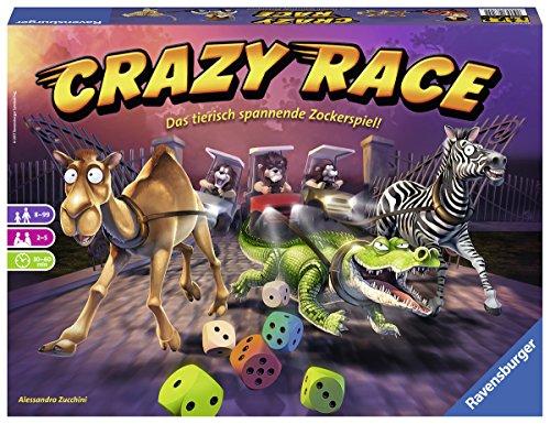 Ravensburger 26725 - CRAZY RACE Familienspiel
