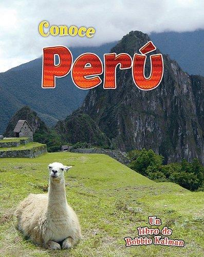 Conoce Peru (Conoce Mi Pais (Hardcover)) por Robin Johnson