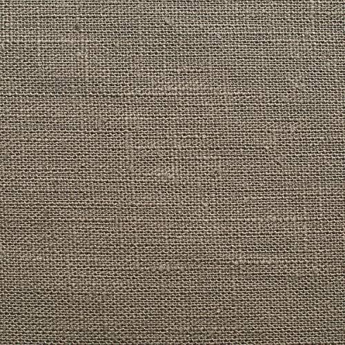 Tela de lino natural - 100% lino puro - Gran textura de lino - 20 colores - Por metro (Piedra perla)