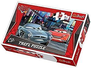 TREFL 5900511181623 Puzzle Puzzle - Rompecabezas (Puzzle Rompecabezas, Dibujos, Niños, Cars, Niño/niña, 3 año(s))