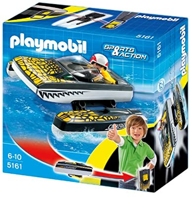 Playmobil 5161 - Click & Go: croc speedboat de Playmobil