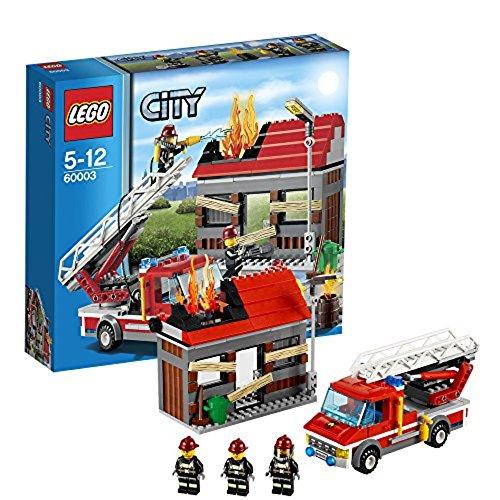 feuerwehrwache lego LEGO City 60003 - Feuerwehreinsatz