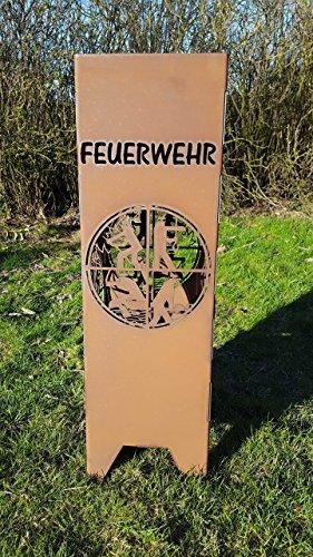 Feuersäule/ Feuerwehr Logo