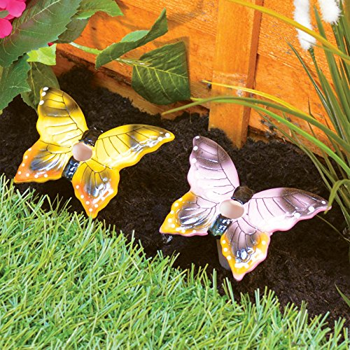 2 Automatic Ceramic Butterfly Pl...