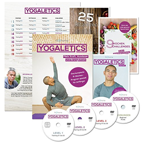 Edition. Das 9-Wochen-Workout speziell für Anfänger. Mehr Kraft, Ausdauer und Beweglichkeit durch Yoga-Fitness. Effektives Bodyweight-Training ohne Geräte für Männer und Frauen ()