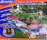 Banzai Doppel Speed Duell Wasserrutsche 487 cm mit Sprinkler