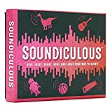 Soundiculous: The Hilarious Pocketsize Party Game of Ridiculous Sounds That Gets The Whole Family Laughing.