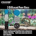 "ltwhome fish pond foam filter sponge set 17"" x 11"" 3 grade media (pack of 3 sets) LTWHOME Fish Pond Foam Filter Sponge Set 430mm X 280mm 3 Grade Media,17-Inch X 11-Inch Media(Pack of 3 Sets) 61 2Bnkq1SaSL"