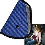 Versendet durch Italien–Regler Gürtel der Sicherheit für Auto-Kindersitz KINDER. Farbe Blau