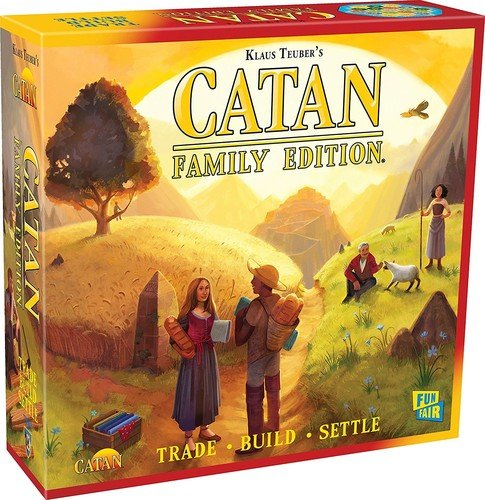 Mayfair Games MFG73002 - Brettspiele, Catan Family Edition Board Game