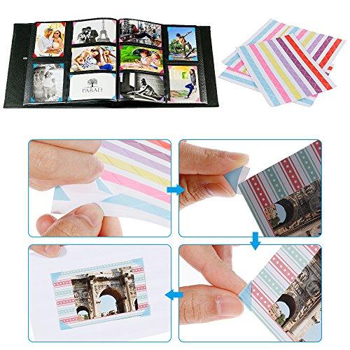 ~ Rovtop Fogli Colorato Gran Combo per Fujifilm Kit Accessori per Fujifilm(il Fujifilm Instax MINI 8 e 9, Mini 8+, Fuji Mini 9 rosa / blu, Mini 70, Mini 7, Mini 7s, Mini 25, Mini 90 e Mini 50s.) Instax Mini 9/8 Camera recensioni dei consumatori