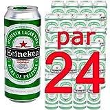 Bière - Pack x24 Heineken 50cl boite