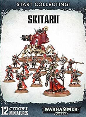 Jeux Atelier 99120116014 commencer à collectionner Skitarii miniature