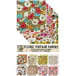 Hippie Flowers FLONZ Vintage Paper