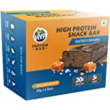 HYP Meal Replacement Whey Protein Bar Pack of 6 (60g x 6) Salted Caramel
