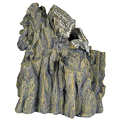 Pet Ting Skull Cave Aquatic Ornament - Aquarium Decoration - Vivarium Decoration 2