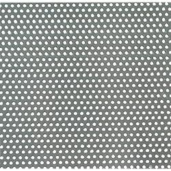 GAH-ALBERTS 464257 - Chapa perforada - agujero redondo, aluminio, blanco, 300 X 1000 X 0.8 Mm