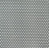 GAH-Alberts 464257 Lochblech, runde Lochung - Aluminium, natur, 300 x 1000 x 0,8 mm