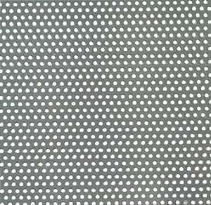 gah alberts 464264 lochblech runde lochung aluminium natur 600 x 1000 x 0 8 mm. Black Bedroom Furniture Sets. Home Design Ideas