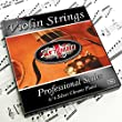 Adagio Pro - Violin Strings - 4/4 Classic Silver Violin String Set With Ball Ends For Concert Tuning