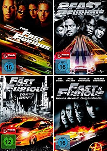The Fast and the Furious 1 + 2 + 3
