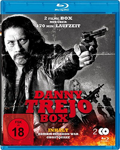 Danny Trejo Box : Zombie Invasion War - Ghostquake - 2 Blu-ray Box