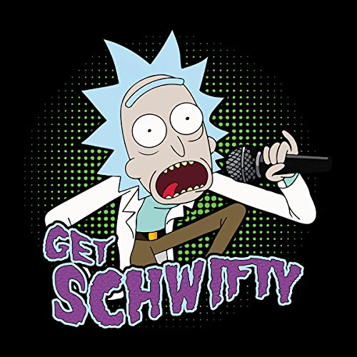 Rick And Morty Get Schwifty Women's Vest Black
