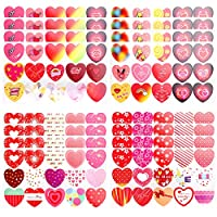 Gift Tag Stickers,16 Sheets Christmas/Valentine
