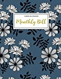 Monthly Bill Planner and Organizer: Finance Monthly & Weekly Budget Planner Expense Tracker Bill Organizer Journal Notebook | Budget Planning | ... Workbook (Expense Tracker Budget Planner) - Jada Correia