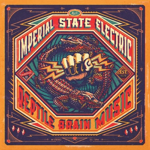 Imperial State Electric: Reptile Brain Music (Audio CD)