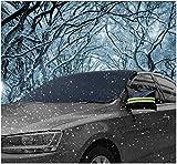 """Parasole Auto Parabrezza, AUPERTO Visiera proteggi ghiaccio 58 """"x 32"""" con copri specchio Winter Summer Auto Shade"""