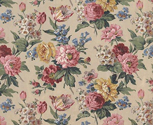 *Mauer Schurken wr50510Floral Blüten–Wand einkleistern Tapete Wandbild–300cm x 240cm, rosa*