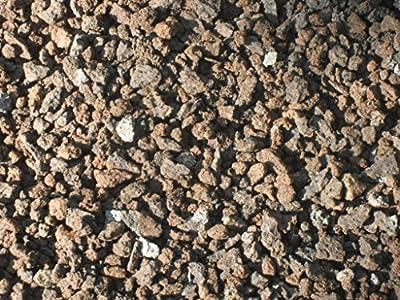 Der Naturstein Garten 50 kg Lava Mulch 4-11 mm - Pflanzgranulat Schneckenschutz Lavastein Lavasteine Aquarium Dachbegrünung Lavagranulat - Lieferung KOSTENLOS