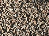 Der Naturstein Garten 25 kg (Vergleichspreis 10,36 Euro bei 20 Liter) Lava Mulch 2-8 mm - Pflanzgranulat Lavastein Lavasteine Kies Kiesel Lavamulch Dachbegrünung Lavagranulat - Lieferung KOSTENLOS