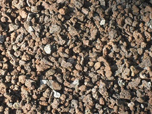 25 kg (Vergleichspreis 10,36 Euro bei 20 Liter) Lava Mulch 2-8 mm - Pflanzgranulat Lavastein Lavasteine Kies Kiesel Lavamulch Dachbegrünung Lavagranulat - LIEFERUNG KOSTENLOS