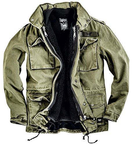 Black Premium by EMP Field Jacket Giacca verde oliva XXL