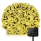 Mpow PAGECD039AW-UKAA2 200 LED Lanterne Stringa Solare, Stringa Decorativa Impermeabile, 22 m