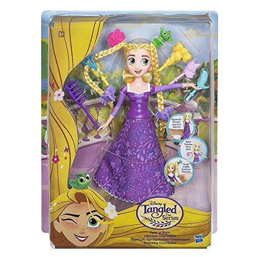 Disney Enredados - Muñeca Rapunzel Peinados Enredados (Hasbro C1748EU4)