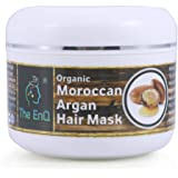The EnQ Moroccan Hair Mask For Hair Growth And Reducing Hair Fall 99% Pure Aloe Vera With Organic Moroccan Extract 100gm…