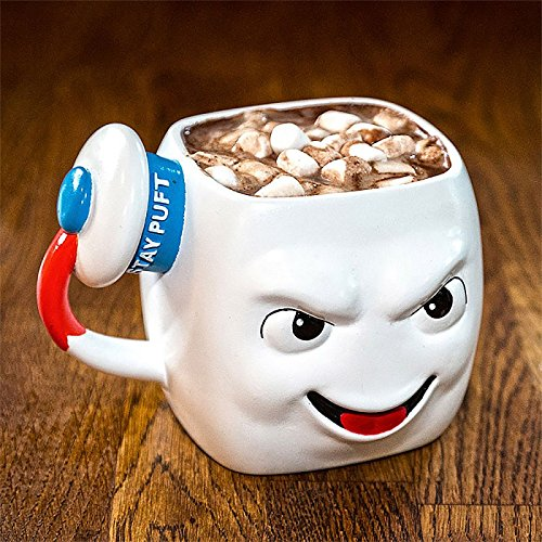 Ghostbusters Stay Puft Marshmallow Man a forma di tazza