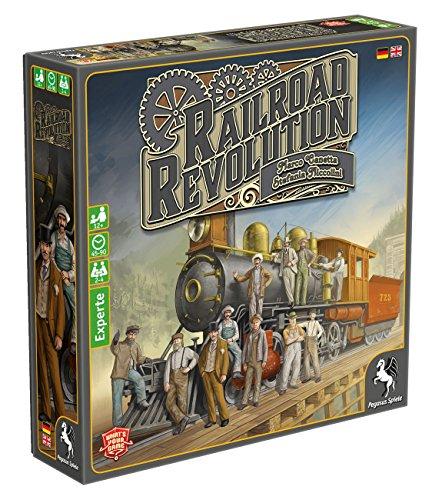 Pegasus Spiele 56020G - Railroad Revolution (Revolution Spiel)