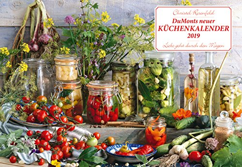 DuMonts neuer Küchenkalender - Kalender 2019 - DuMont-Verlag - Küchenplaner mit Platz für Eintragungen - 42 cm x 29 cm (offen 42 cm x 58cm)
