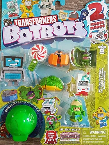 Transformers Botbots – Pack of 8 Figures 4 cm to Collect – 2-in-1 Transformable Toy (Series 2)